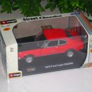 Bburago 1/32 Diecast Model Car 1970 Ford Capri RS2600 Classic Car (RED)