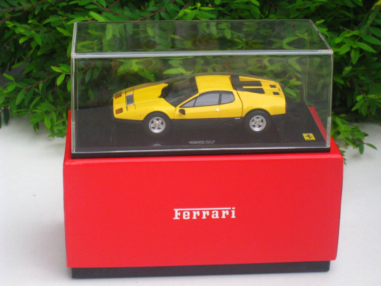 Kyosho 1/43 Diecast Car Model Ferrari 512BB YELLOW 05011Y
