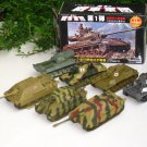 Doyusha 1/76 Pull-Back Military Tank #Series 01 (7 Nos)