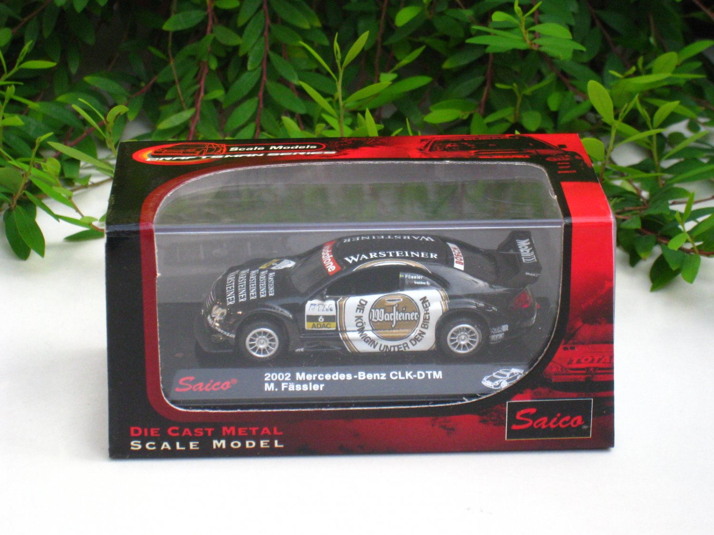 Saico 1/72 Diecast Car Model 2002 Mercedes Benz CLK DTM #6 M.Fassier