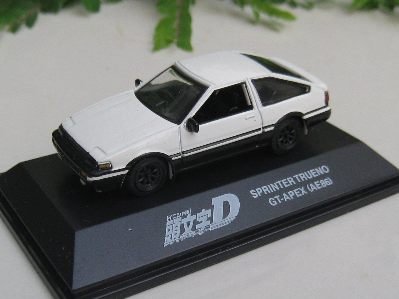 Yodel 1/72 Diecast Car Model INITIAL D TOYOTA Sprinter Trueno GT-Apex (AE86)
