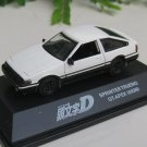 Yodel 1/72 Diecast Car INITIAL D TOYOTA Sprinter Trueno GT-Apex (AE86) 6cm
