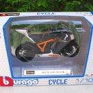 Bburago 1/18 Diecast Motorcycle KTM 1190 RC8 R