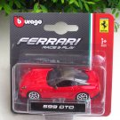 Bburago 1/64 Diecast Car Model Ferrari 599 GTO Mini car