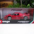 Bburago 1/18 Diecast Car Model Ferrari F50  Red