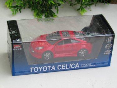 MZ 1/32 Diecast Car Model Toyota Celica with Sound & Light RED
