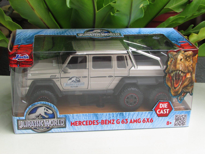 JADA 1/24 Diecast Movie Car Jurassic World 2015 Mercedes-Benz G63 AMG 6x6 Pick-up