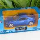 "Top Mark 1-39 ( 5"") Diecast  Model Car Subaru BRZ 2013  (Blue)"