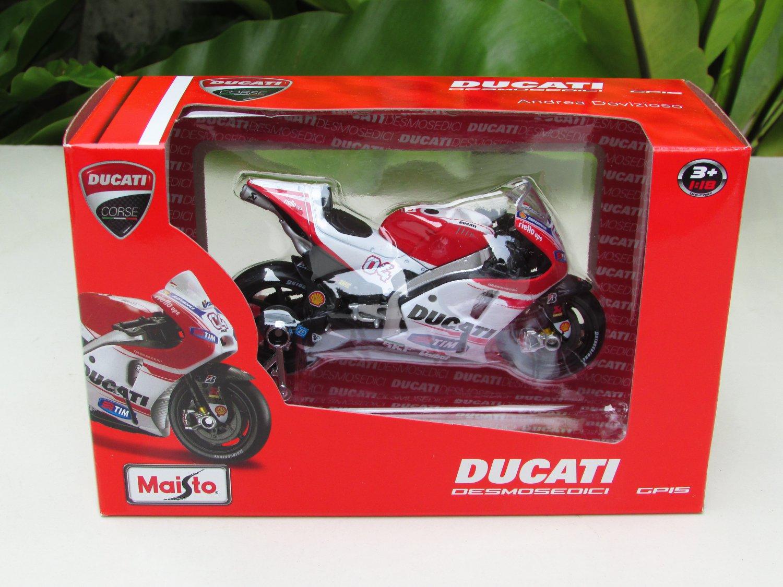 Maisto 1/18 MOTOGP 2015 Ducati Desmosedici #04 Andrea Dovizioso