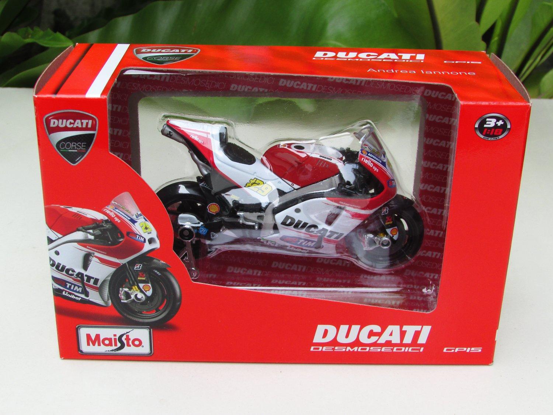 Maisto 1/18 MOTOGP 2015 Ducati Desmosedici #29 Andrea Iannone