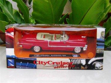 New Ray 1/43  Diecast model car  Cadillac Eldorado 1955 RED