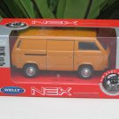 Welly 1/34-1/39 Die cast Car VW Volkswagen T3 Bus Combi Orange(11cm)