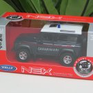 Welly 1/34-1/39 Die cast Car Land Rover Defender CARABINIERI(11cm)