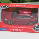 Welly 1/34-1/39 Die cast Car Subaru Impreza WRX STI 2015 RED(11cm)