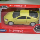 Welly NSX 1/34-1/39 Die cast Car Honda Integra Type R (DC5) YELLOW (11cm)