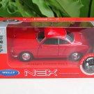 Welly 1/34-1/39 Die cast Car VW Karmann Ghia Coupe RED(11cm)