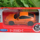 Welly 1/34-1/39 Die cast Car Porsche 911 (997) GT3 RS Orange(11cm)
