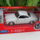 Welly 1/34-1/39 Die cast Car VW Karmann Ghia Coupe WHITE(11cm)