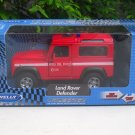 Welly 1/34-1/39 Die cast Car Land Rover Defender( VIGILI DEL FUOCO) Red (11cm)