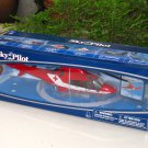 New Ray Sky Pilot  1/43 Agusta Westland AW109 DieCast Helicopter Red