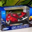 Welly 1/18 Diecast Motorcycle Suzuki Hayabusa GSX 1300R