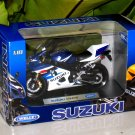 Welly 1/18 Diecast Motorcycle Suzuki GSX-R750