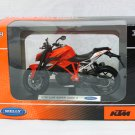 Welly 1/18 Diecast Motorcycle KTM 1290 Super Duke R Orange