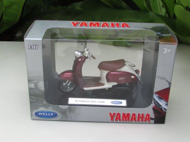 "Welly 1/18 Diecast Motorcycle 99"" Yamaha VINO YJ50R"