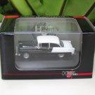 High Speed 1/87 Diecast Model Car Chevy Bel Air 1955 Black (6cm)