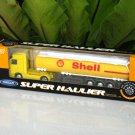 Welly 1/87 Diecast car Model Mercedes Benz Actros Trucks SHELL OIL Tanker TRUCKS