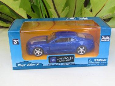 "Top Mark (5"") 1/38 Diecast  Model Car 2010 Chevrolet Camaro RS  (Blue)"