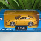 "Top Mark (5"") 1/35 Diecast  Model Car 2013 Porsche 911 Carrera S  (Yellow )"