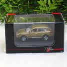 High Speed 1/87 Diecast Model Car Porsche Cayenne Turbo 2008 Gold (5.5cm)