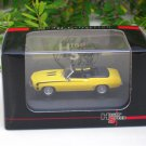 High Speed 1/87 Diecast Model Car  Camaro SS396 1969 (Yellow) 5cm