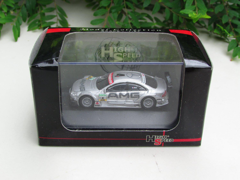 High Speed 1/87 Diecast Model Car Mercedes Benz AMG  C Class  DTM 2004 #4