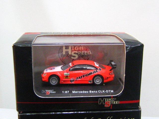 "High Speed 1/87 Mercedes-Benz CLK DTM 2003 ARTATeam Persson K.Kaneishi""Autobacs"" #20"