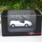 High Speed 1/87 Diecast Model Car 1953 JAGUAR XK 120 Cabriolet Car (WHITE) 5cm