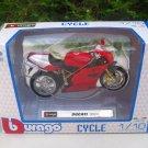 Bburago 1/18 Diecast Motorcycle Ducati 998R (Red)