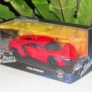 Jada 1-24 Fast & Furious Series - Lykan Hypersport 2015 Arab Supercar Red