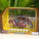 1/18 Diecast Motorcycle Classic Sidecar M558 (Red)