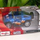 Maisto 1/24 Custom Shop Diecast Car Hummer HX Concept Car (2008) BLUE