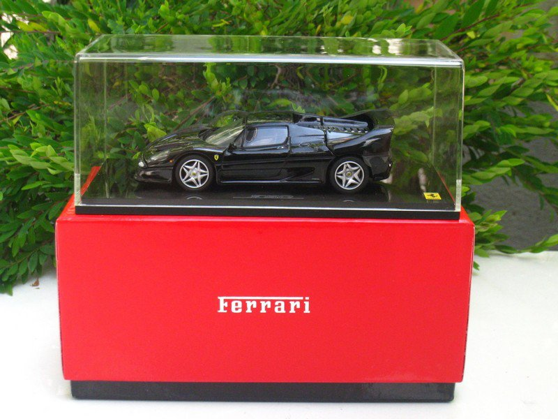 Kyosho 1/43 Diecast Car Model Ferrari F50 BLACK (05091BK)