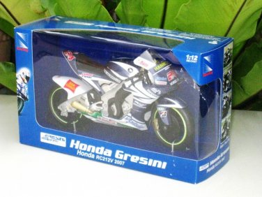 New Ray 1/12 Diecast Moto GP 2007 Honda Gresini RC212V#24 Toni Elias