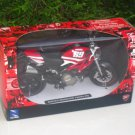 New Ray 1/12 Diecast Motorcycle Ducati Monster 796 # 69 (Red)