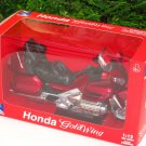 New Ray 1/12 Diecast Motorcycle 2010 Honda Gold Wing (BURGUNDY)