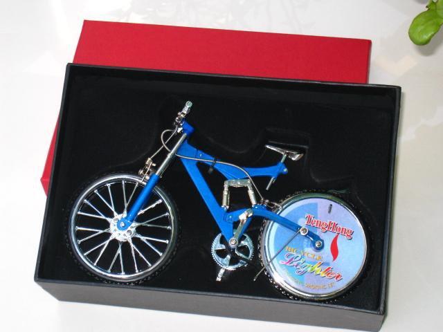 Table Lighter -Trendy Bicycle Lighter (Assorted) Shape (Blue)21cm