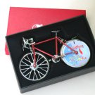 Table Lighter -Trendy Bicycle Lighter (Assorted) Shape (Red) 18 cm