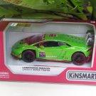 "Kinsmart (5"") Die cast Blancpain 2015 Lamborghini Huracan LP 620-2 Super Trofeo # 63 Green  (1-36)"