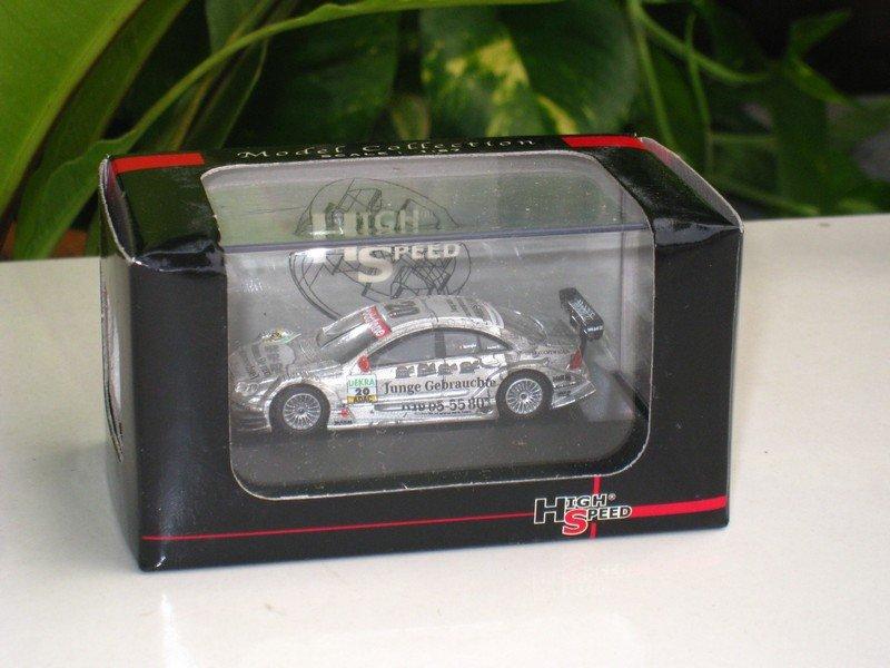High Speed 1:87 Mercedes Benz C-Class DTM Junge Gebrauchte # 20 (German Touring car Masters)