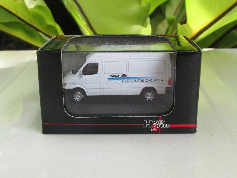 High Speed 1/87 Diecast Model Car Mercedes Benz Sprinter Van (HYGIENE EXPRESS)